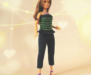 barbie doll, fashion royalty, and barbie outfit image