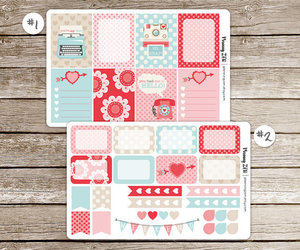 etsy, life planner, and planner stickers image