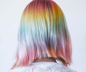 braids, colors, and hair image