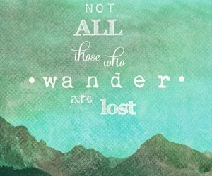 quote, mountains, and lost image