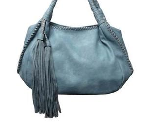 baby blue, bag, and fashion image
