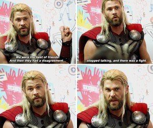 Avengers, thor, and friends image