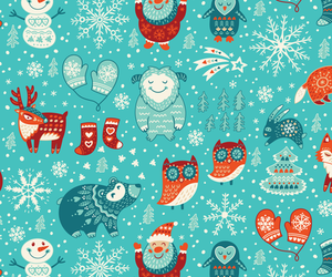 background, bear, and christmas image