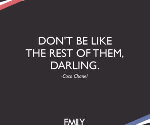 be yourself, chanel, and quotes image
