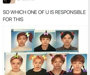 bts, k-pop, and meme image