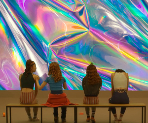 alternative, girls, and holographic image