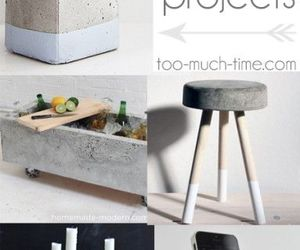 cement, decor, and diy image