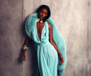 black girl and thin image
