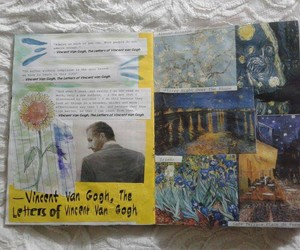 gogh, indie, and journal image