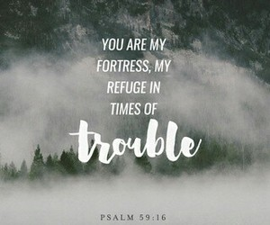 joy, trouble, and refuge image