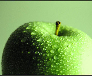 apple, green, and green apple image