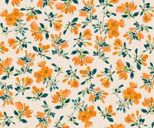 background, flor, and pattern image