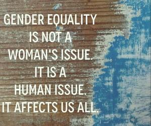 equality, gender, and human image