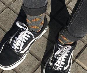 girl, tumblr, and vans image