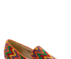 colors, shoes, and zigzag image