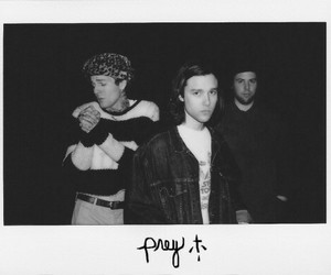 the neighbourhood, the nbhd, and black and white image