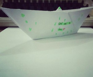 paperboat and nostalgic image