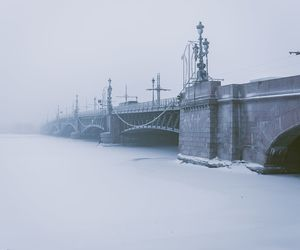 blue, fog, and russia image