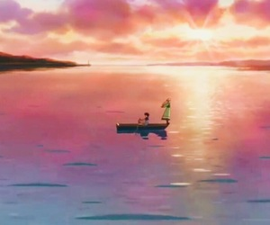 animation, scenery, and when marnie was there image