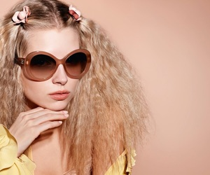 chanel, eyewear, and girl thing image