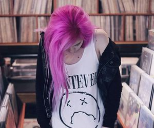 grunge, marymisantropic, and dyed hair image