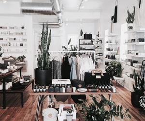 shop, home, and plants image