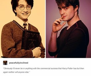 daniel radcliffe, harry potter, and movies image