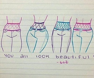 beautiful, body, and different image