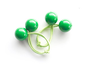 green, hair accessories, and hair ties image