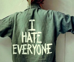 hate, everyone, and i image