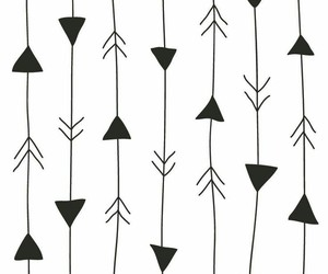 wallpaper, pattern, and arrow image