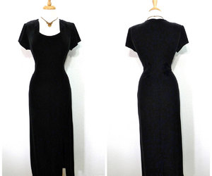 black velvet dress image