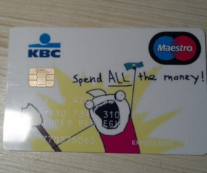 card, lol, and money image