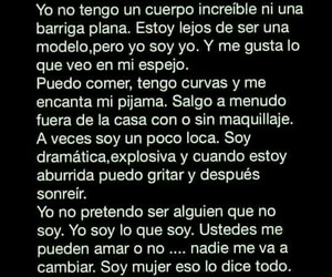 girl, frases, and body image