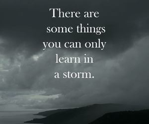 learning, storm, and difficulties image