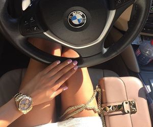bmw, luxury, and nails image