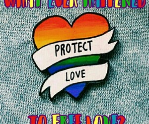 free love, pride, and quotes image