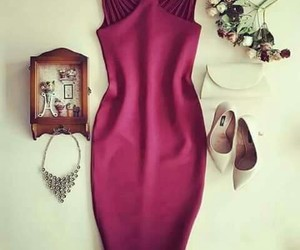 dress, elegance, and fashion image