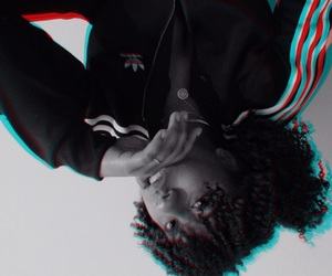 adidas, curly, and feels image