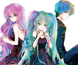 kaito, vocaloid, and megurine luka image