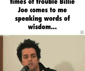 band, billie joe armstrong, and guitarist image