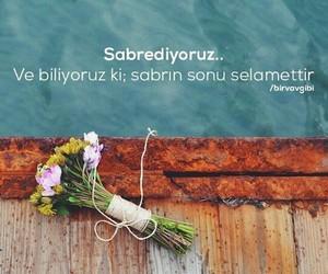 sözler, türkçe, and sabir image