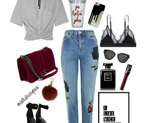 bra, combine, and fashion image
