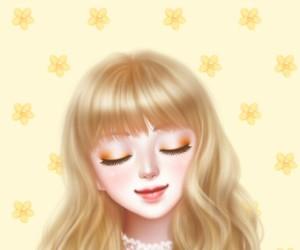 Enakei, girl, and illustration image