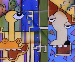 cubism, parody, and nickelodeon image
