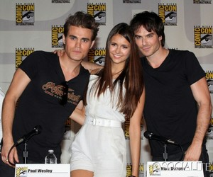 ian somerhalder, the vampire diaries, and tvd cast image