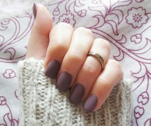 matte, nails, and rings image