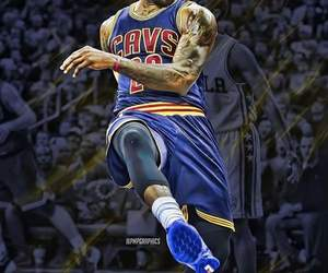 LeBron James, NBA, and cleveland cavaliers image