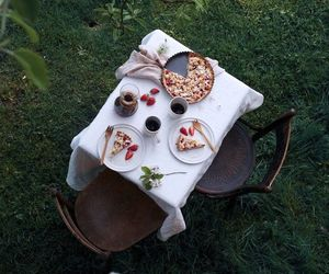 food, nature, and breakfast image