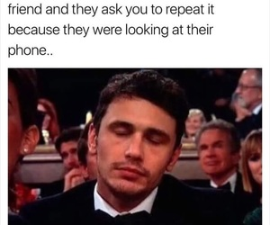 james franco, story, and phone image